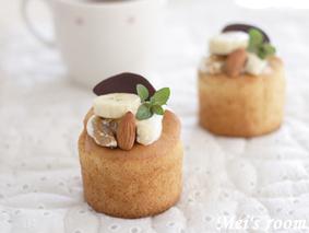 ケーキ バナナ シフォン