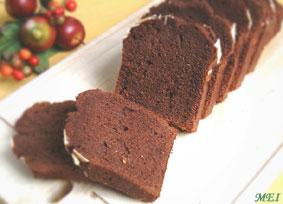 チョコパウンドケーキの作り方