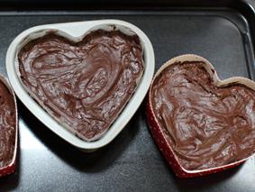ガトーショコラのレシピ 生地を型